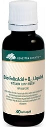 Genestra Bio Folic Acid + B12 Liquid (30mL)