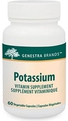 Genestra Potassium (60 Vegetable Capsules)