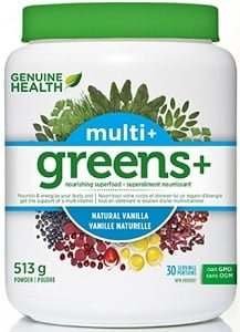 Genuine Health Greens+ Multi+ - Vanilla (513g)
