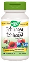 Nature's Way Echinacea Herb (180 Capsules)