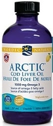 Nordic Naturals Arctic Cod Liver Oil - Lemon (237mL)
