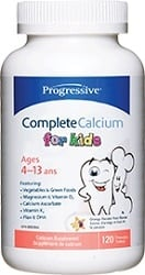 Progressive Nutrition Complete Calcium - Kids (120 Chewable Tablets)