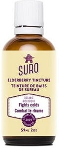 Suro Organic Elderberry Tincture - In Alcohol (59mL)