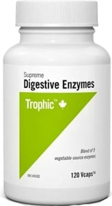 Trophic Supreme Digestive Enzymes (120 VCaps)
