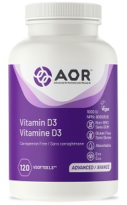Vitamin D3 60 veggie softgels (vegan)